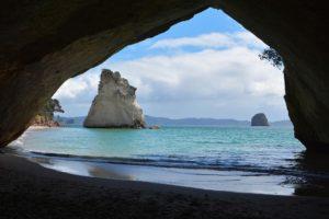 eTA Neuseeland online und besuchen Sie Cathedral Cove