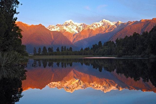 E Visum neuseeland lake Matteson