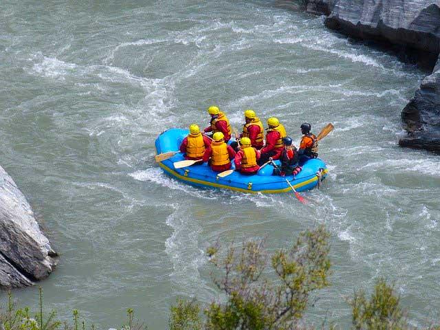 rafting auf dem Tongariro